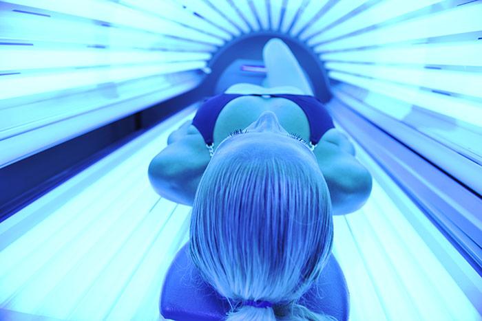 Promieniowanie ultrafioletowe o różnej długości fal